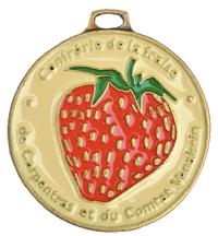 medaille-fraise