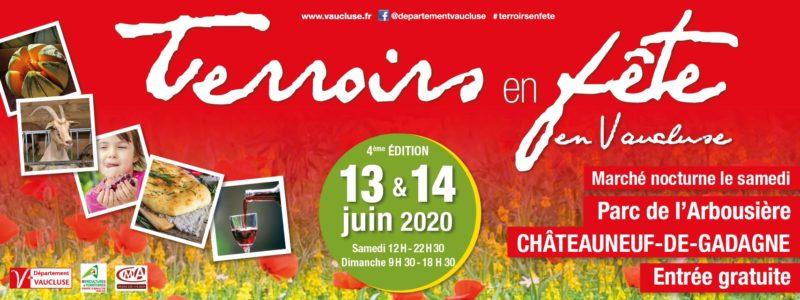 20-06-13 et 14 affiche Terroirs en fête